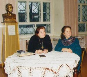 8 Встреча с вдовой композитора В.Гаврилина Н.Е.Гаврилиной и первой учительницей музыки Т.Д.Томашевская