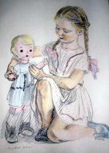 Автолитография А.Ф.Пахомова Первые шаги
