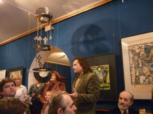 Сокол выставка Выступление И.Трайнина