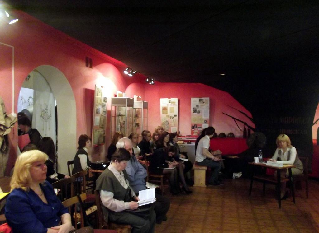 Работа секции на краеведческих чтениях Сокол от истоков к современности